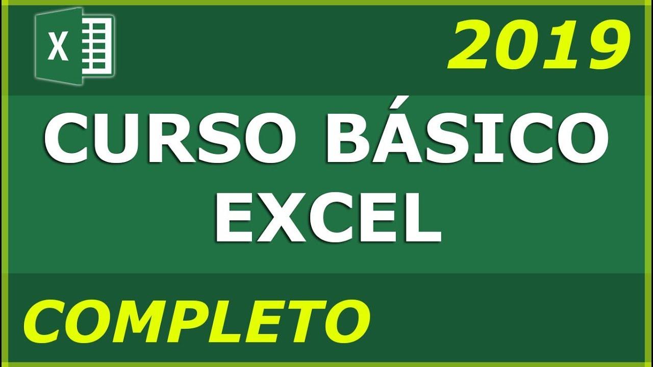 Download CURSO BÁSICO DE EXCEL - COMPLETO 2020