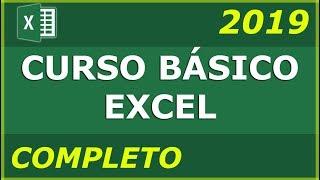 CURSO BÁSICO DE EXCEL  COMPLETO 2020