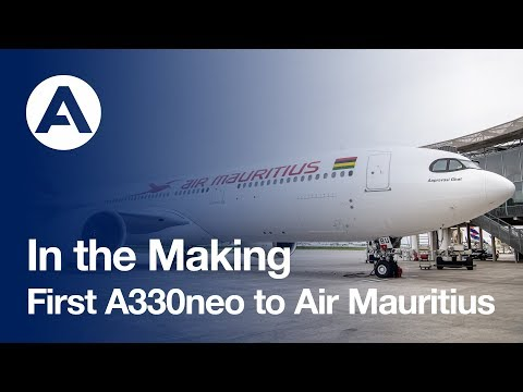 Airbus completes first Air Mauritius A330neo