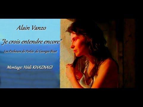 Alain Vanzo  ''Je crois entendre encore''  Les Pêcheurs de Perles. Opéra de Bizet