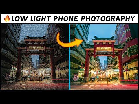 Shoot Amazing LOW LIGHT Photos On ANY Smartphone | Tutorial