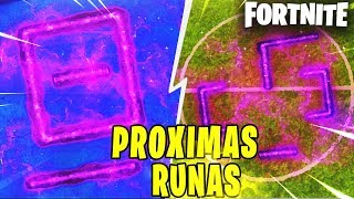 FILTERED ALL RUNES AND THEIR LOCATIONS, THE SECRET FORTNITE CUBE FORTNITE: Battle Royale