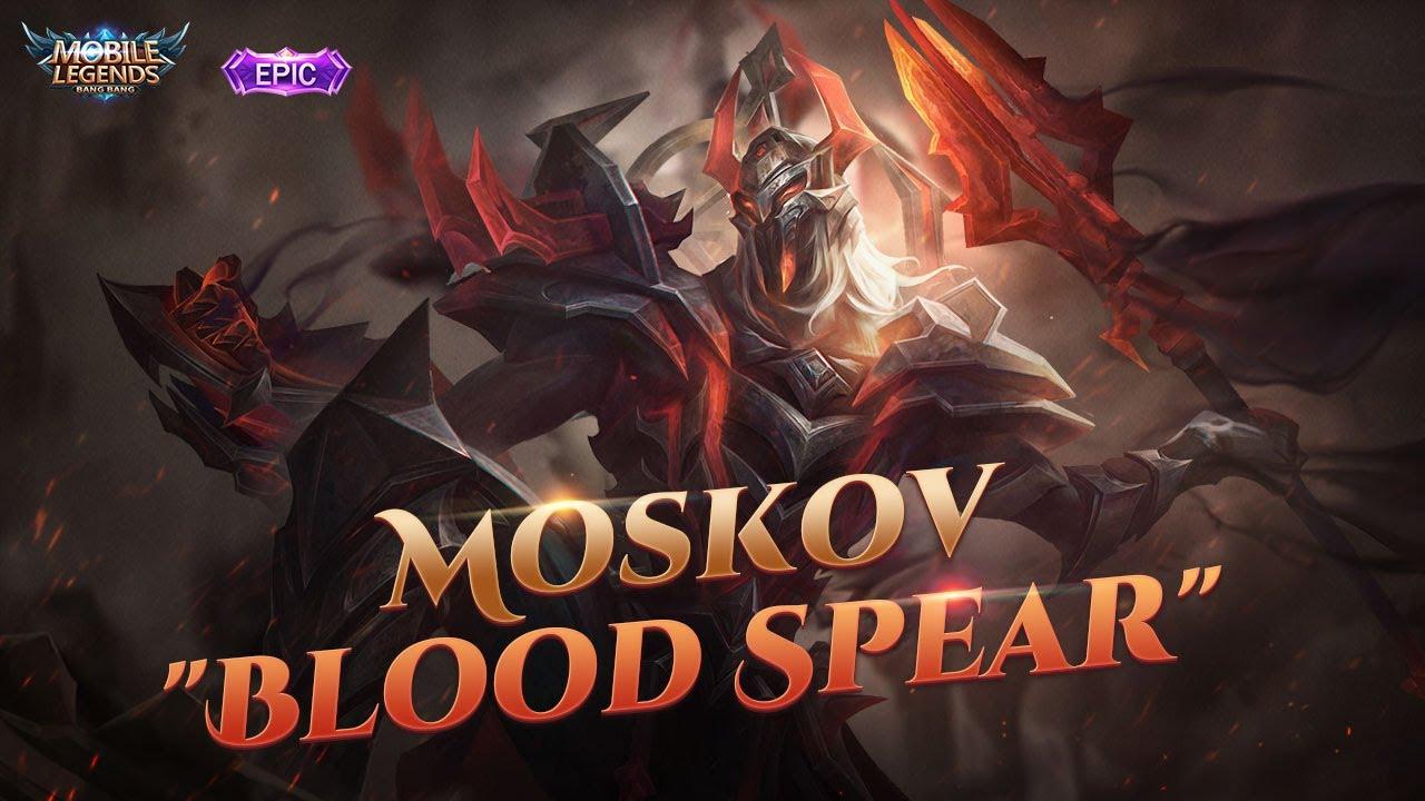 MOSKOV New Epic Skin | BLOOD SPEAR | Mobile Legends: Bang Bang thumbnail