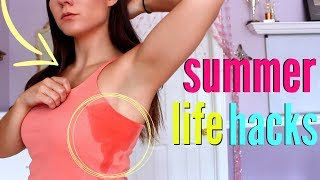 11 Summer LIFE HACKS YOU MUST KNOW !!