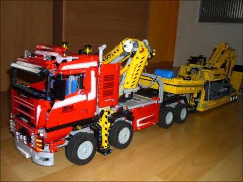 lego technic truck 8258 powerkran palfingerkran und. Black Bedroom Furniture Sets. Home Design Ideas