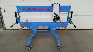 Сегментный листогибочный станок Dachdecker SEG U 1250(, 2016-03-22T15:08:48.000Z)