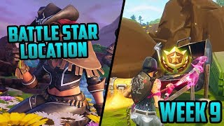 Season 6, Week 9 | *SECRET* Battle Star Location! (Free Tier) - Fortnite
