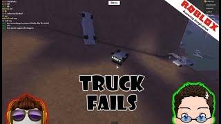 Roblox - Lumber Tycoon 2 - Truck Fails, a WOO ooo