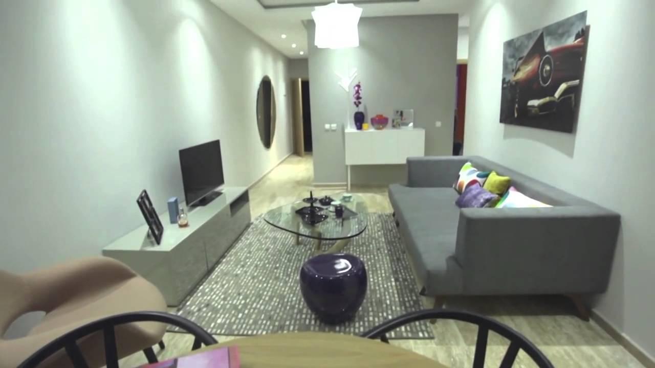 Casablanca parc l 39 appartement t moin youtube for Appartement design casablanca