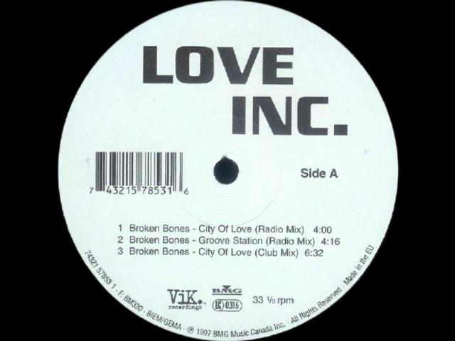 Broken bones - Love Inc