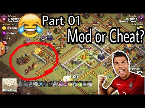 Part 1 RoyalofWar😱 WTF Hog Healer Incredible insane skill Destroy Different War Base Th11 by Clash