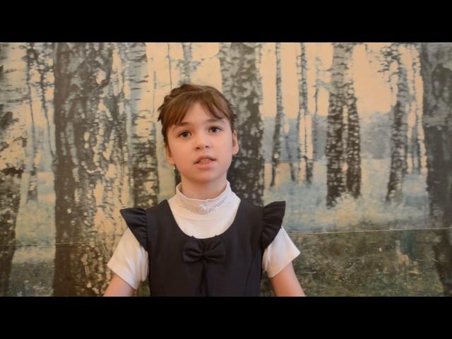 Изображение предпросмотра прочтения – АлинаЩеголева читает произведение «Чиж и Голубь» И.А.Крылова
