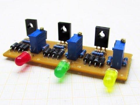 Balancing unit (BMS) for Li-ion batteries