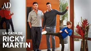 EXCLUSIVA AD: Entramos en la nueva casa de Ricky Martin