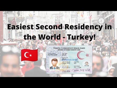 Easiest Residency in the World - Turkey 🇹🇷