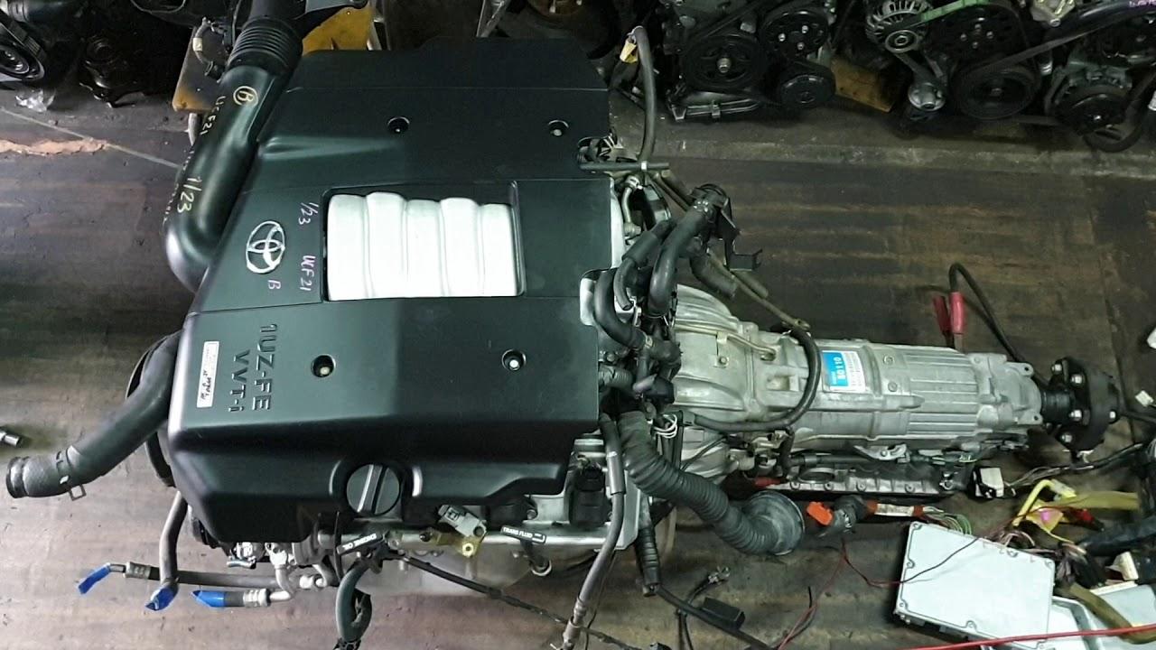 ติดเครื่อง 1UZ-FE VVTI V8 4.0L ส่งลูกค้า (start up 1UZ-FE VVTI V8 Engine)