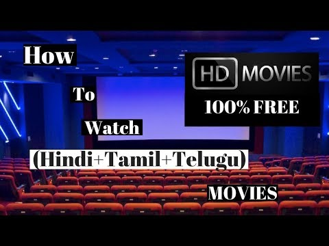 How To Watch (Hindi+Tamil+Telugu) Movies Online | 100% FREE | (2018)