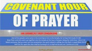 Covenant Hour of Prayer October 24, 2018