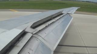 Delta Airlines MD-88 [N952DL] Heavy/Fast Landing into | KDTW