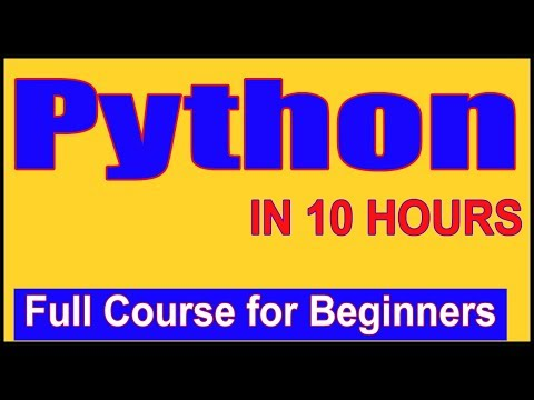 learn-python---full-fundamental-course-for-beginners-|-python-tutorial-for-beginners-[2019]