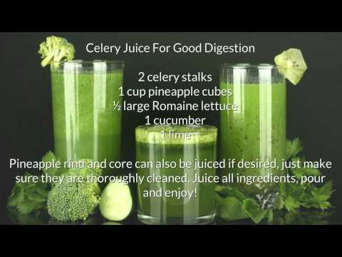 Celery Juicing Recipes for Weight Loss & More Sex