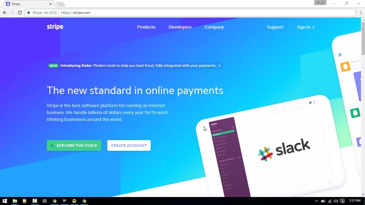 Processing Payments with Stripe in Php(Laravel) : E-commerce website in  Laravel #10