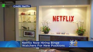 Netflix Hiring Professional Binge Watchers