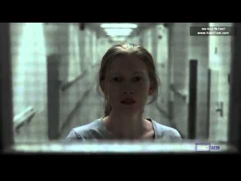 Female celeb feet TV series the Killing with Mireille Enos