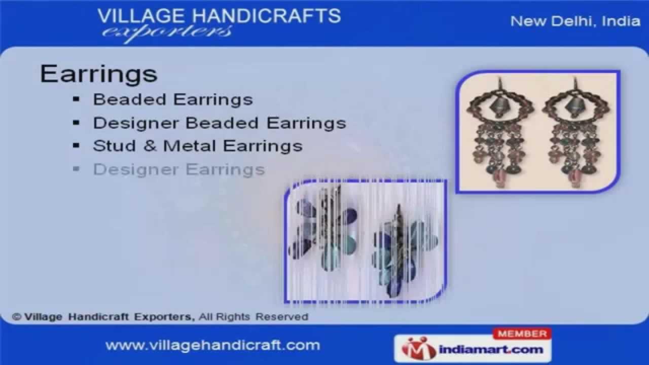 Fashion Jewelry By Village Handicraft Exporters New Delhi Youtube