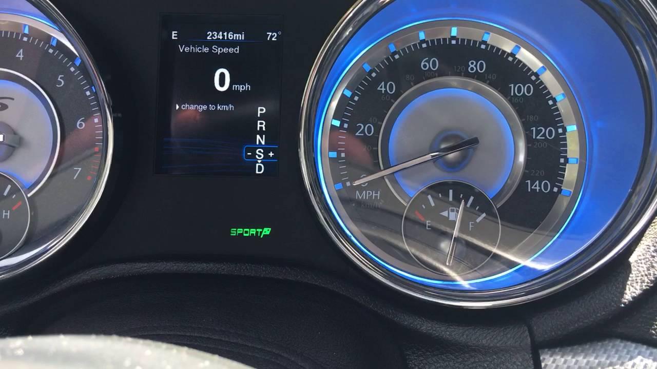 2014 Chrysler 300S AWD 36 060 Sport Mode  YouTube