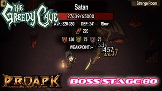 The Greedy Cave: Boss Stage 80 - Gameplay IOS / Android