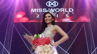 Miss World Philippines 2015 WINNER is #19 HILLARIE PARUNGAO Coronation Night LIVE Update #3