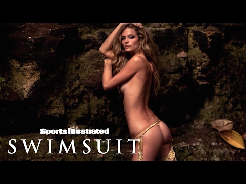 Kate Bock Gleams In Gold Chains In Mexico   Uncovered   Sports Illustrated Swimsuit