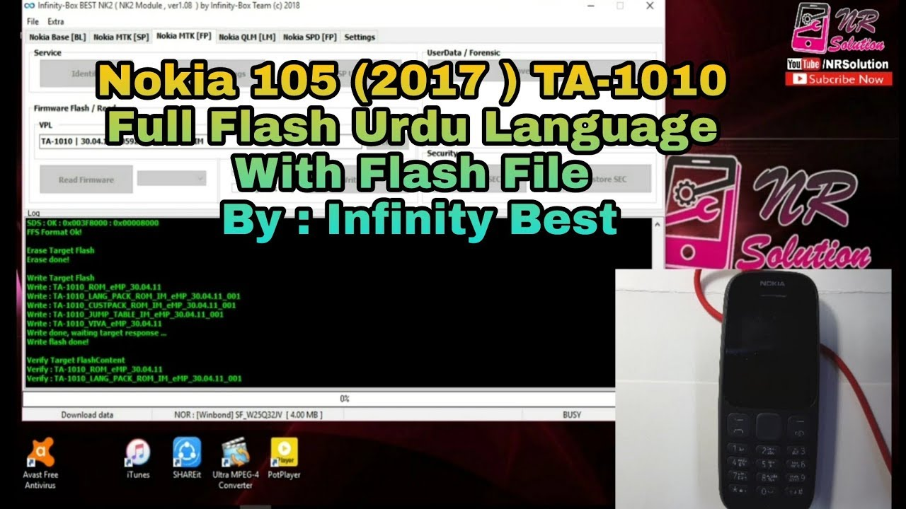 Flash Service Infinity BEST Dongle For Nokia Mobile Phone Unlock