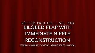 Bilobed flap with immediate NAC reconstruction