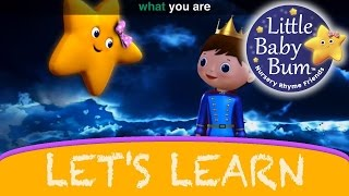 "Let's Learn ""Twinkle Twinkle Little Star""! With LittleBabyBum!"