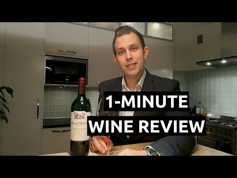1 Minute Wine Review - 2014 Chateau Ste Michelle Cabernet Sauvignon
