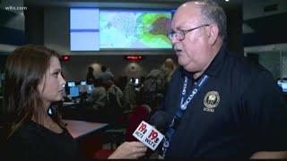 Officials Talk About Hurricane at Emergency Management Division