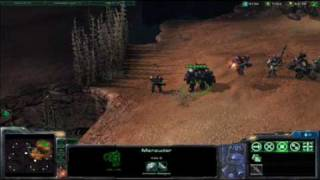 Starcraft II Terran Unit Sounds and Quotes