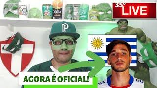 Ufah! Contratação : 35º Live do Máscara - Chegou Matias Vina - Red Bull x Palmeiras - E +do Verdão .