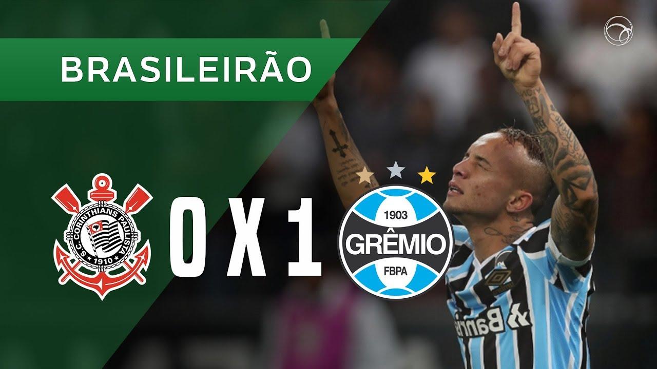 CORINTHIANS 0 X 1 GRÊMIO - GOL - 18 08 - BRASILEIRÃO 2018. UOL Esporte 1dc754af4fdc2