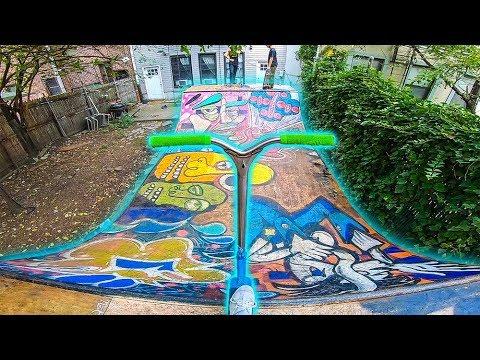SECRET Backyard Skatepark!