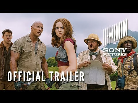 JUMANJI: WELCOME TO THE JUNGLE - Official Trailer #2 thumbnail