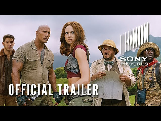 JUMANJI: WELCOME TO THE JUNGLE - Official Trailer #2