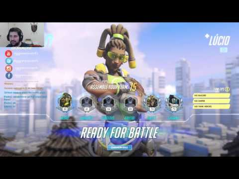 [BR] GG Games - ranked overwatch ^^
