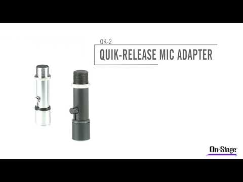 On Stage QK2B Microphone Clip Quick Release