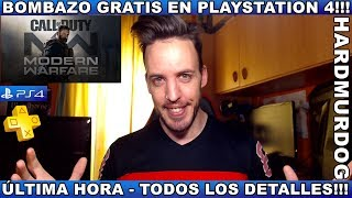 Call of Duty: Modern Warfare Ps4 *GRATIS*