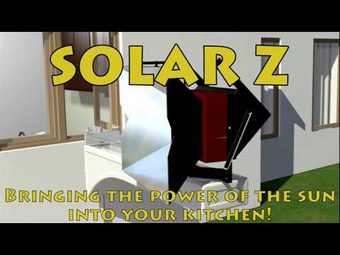 New Technology Innovation:  Solar Z,   Solar Thermal Cooking Appliance