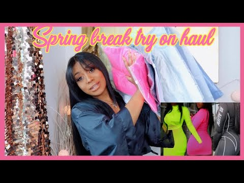 Perfect Spring Break Outfits!!! (TRY ON/ UNBOXING) ft. African Mall 2