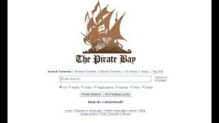 THE PIRATE BAY IS BACK, BABY! Thepiratebay.org sails again for 2019